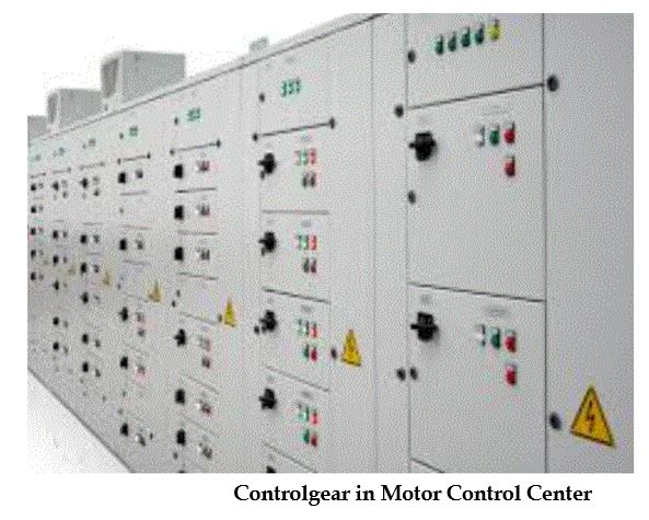low voltage controlgear Controlgear%20in%20Motor%20Control%20Center.JPG