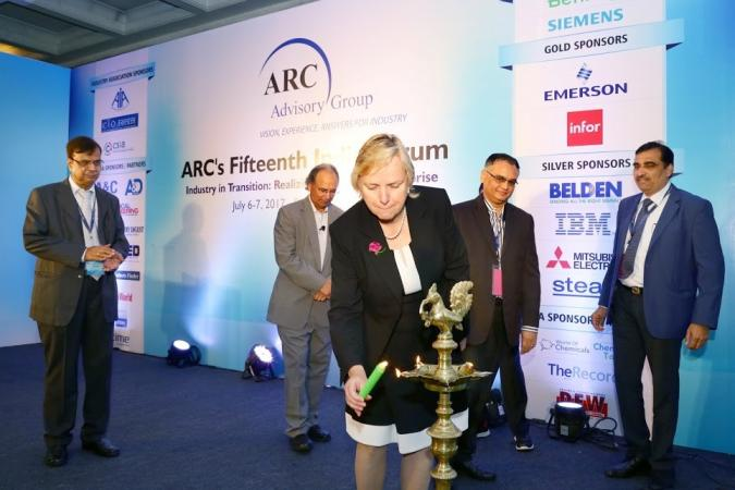 Bentley Systems Lights Inaugural Lamp at ARC India Forum