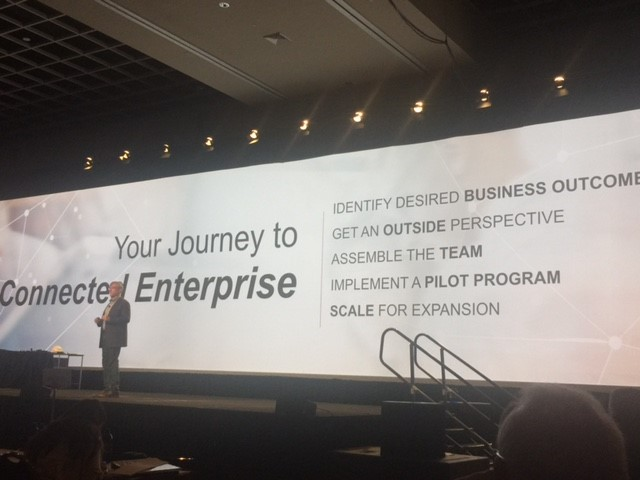 """The Connected Enterprise"""" Dominates Rockwell Automation"""