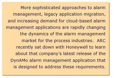 Alarm Management Moves into the IIoT Age | ARC Advisory Group