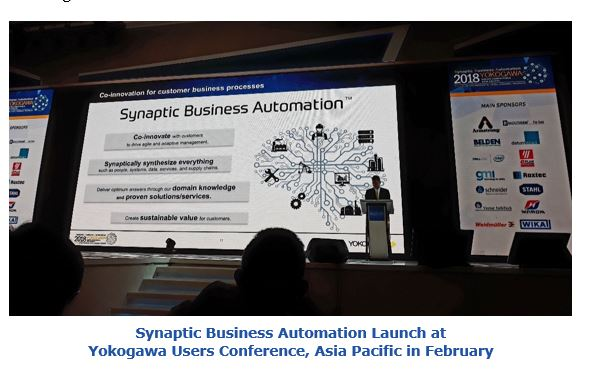 Synaptic Business Automation Launch at Yokogawa Users Conference, Asia Pacific in February  bgvp2.JPG