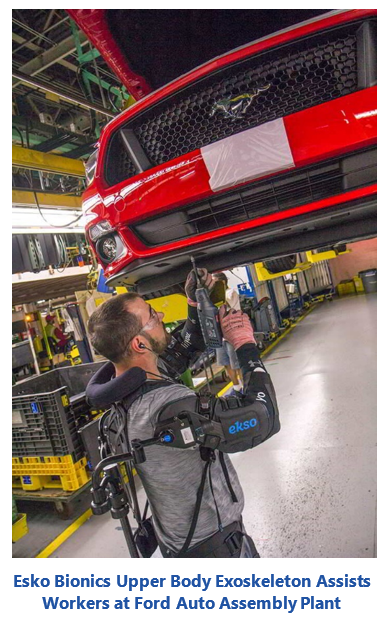 human-assist robots - Esko Bionics Upper Body Exoskeleton Assists Workers at Ford Auto Assembly Plant edohar.PNG