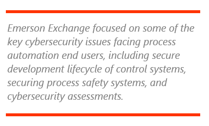 Emerson Exchange Features Strong Cybersecurity Message | ARC
