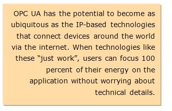 Ethernet and OPC UA TSN for Automation Architectures of the Future
