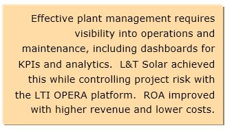 Improving Solar Farm Operating Performance and Return on Assets